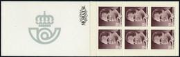 1986 España  Ed 2834C(I) Carnet I. Juan Carlos I Serie General **MNH Perfecto Estado, Nuevo Sin Charnela  (Edifil) - 1981-90 Unused Stamps