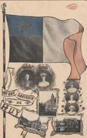 Un Bon Souvenir De Huy , ( 1910 , Dynastie : Roi Albert 1e Et Reine Elisabeth + Enfants ) - Huy