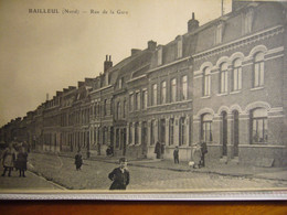 BAILLEUL     Rue De La Gare - Other Municipalities