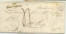 Cursive De Courtivron (cote D'Or) - 1849-1876: Klassieke Periode
