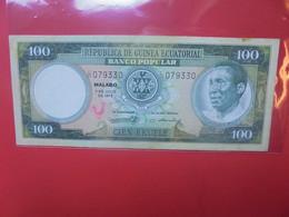 GUINEE EQUATORIALE 100 EKUELE 1975 Circuler (B.22) - Equatorial Guinea