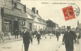 """02 // Sinceny - """"L' Union Sportive"""" En Marche - Andere Gemeenten"""