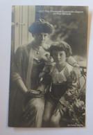 J.K.H. Frau Prinzessin Rupprecht V. Bayern Mit Prinz Albrecht  1910 ♥  (41329) - Historical Famous People
