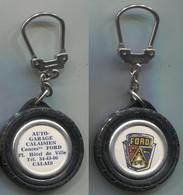 Porte-clefs Auto Pneu Ford Garage Calais - Key-rings