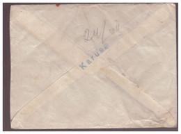 Prov.Line Cachet Karuse On Cover,incl Letter From The Front,08.1919,Estonia.Estland - Estonie