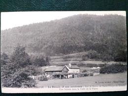 88 , Scierie Route De Raon L'étape Au Donon En 1914 .....scan Recto Verso - Autres Communes