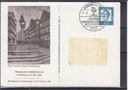 Allemagne - République Fédérale - Carte Postale De 1964 - Entier Postal - Oblit  Marburg An Der Lahn - Covers & Documents