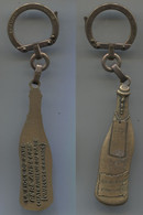 Porte-clefs Augis Châteauneuf Du Pape Père Anselme La Fiole Du Pape Vaucluse - Key-rings