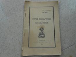 Notice Biographique De L'abbé Albert Espaze- 1913 - Ganges, Castries,Lauret, Lodève - Languedoc-Roussillon
