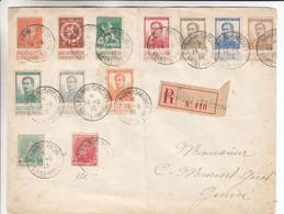 Belgique - Lettre Recom De 1915 ° - Oblit Le Havre - Exp Vers Genève - Timbres Croix Rouge Rare Sur Lettre - - Not Occupied Zone