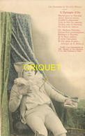 Editeur Bergeret, L'épingle D'or, Pierrot Rêveur, Carte Pionnière Colorisée - Bergeret