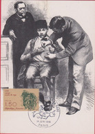 TIMBRES VACCIN CONTRE LA RAGE - Stamps (pictures)