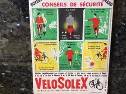 VELOSOLEX BUVARD RÉF 41 - Bikes & Mopeds