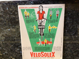 BUVARDS VELOSOLEX RÉF 42 - Bikes & Mopeds