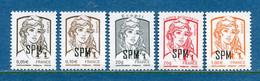 ⭐ Saint Pierre Et Miquelon - YT N° 1083 à 1087 ** - Neuf Sans Charnière - 2013 ⭐ - Ongebruikt