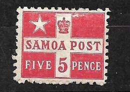 Samoa     N° 21  Neuf  *        AB/ B         Voir Scans     Soldé    Le Moins Cher Du Site  ! ! ! - Samoa (Staat)