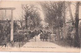 CPA - Allée Saint-Joseph De L'Ecole Saint-Louis De Bagneux - Bagneux