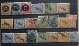 NEDERLANDS  INDIE       Lotje    Dienstzegels    Gestempeld      Zie Foto - Nederlands-Indië