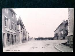 88 , Bulgnéville ,la Place En 1906...scan Recto Verso - Bulgneville