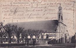 BREST RECOUVRANCE / EGLISE ST SAUVEUR  1916 - Brest