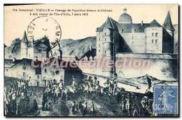 CPA Dauphine Vizille Passage De Napoleon Devant Le Ch�teau 7 Mars 1815 - Vizille