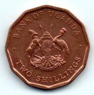 Uganda - Ouganda 2 Shillings 1987 - SPL - Uganda