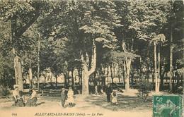 38 ALLEVARD-LES-BAINS. Etablissement Thermal Le Parc 1908 - Allevard