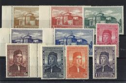 ESPAÑA **547/56 Nuevo Sin Charnela. Cat.21,30 € - Unused Stamps