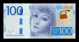Suecia Sweden 100 Kronor Greta Garbo 2016 (2018) Pick 71b SC UNC - Sweden