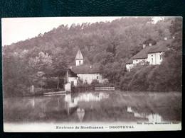 88 , Droiteval ,vue Générale ....scan Recto Verso - Altri Comuni