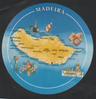 Madeira . Carte Postale Ronde .  Neuve . - Madeira