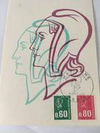 CARTE 1er JOUR MARIANNE 1974 - 1970-1979