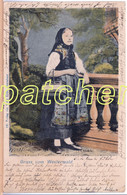 Westerwald, Junge Frau In Tracht, Bahnpost 1901 - Sin Clasificación