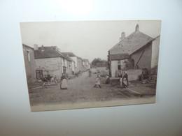 70 HAUTE SAONE VITREY CPA RUE DE BOREY ANNEE 1919 - Sonstige Gemeinden