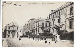 CPA MONACO 376 LE PALAIS DU GOUVERNEUR M N ANIMEE - Monte-Carlo