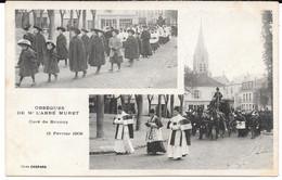 Cpa Brunoy - Obsèques De Mr L'Abbé Muret , Curé De Brunoy / Le 15 Février 1908. (Très Rare). - Brunoy
