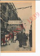 Photo Presse 1939 Bal Du 14 Juillet Dans La Rue Hôtel Des Ecoles Paris (rue Monsieur Le Prince) 237CH15 - Sin Clasificación