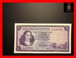 SOUTH AFRICA  5 Rand  1975   P.  112 C   Sig. De Jongh  Wmk. J.Van Riebeeck    XF \ AU - South Africa