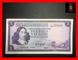 SOUTH AFRICA  5 Rand  1975   P.  111 C  Sig. De Jongh  Wmk. J.Van Riebeeck  UNC- - South Africa