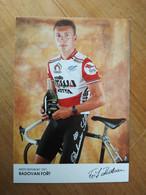 Cyclisme - Carte Publicitaire SELLE ITALIA VETTA : Radovan FORT Cyclo Cross - Radsport