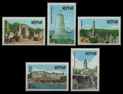 Kenia 1989 - Mi-Nr. 471-475 ** - MNH - Historische Bauwerke - Kenia (1963-...)