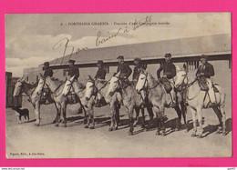 CPA (Réf: Z 3275) (MILITARIA, GUERRE 1914-1918) Forthassa Gharbia Fraction D'une Compagnie Montée à Cheval - War 1914-18