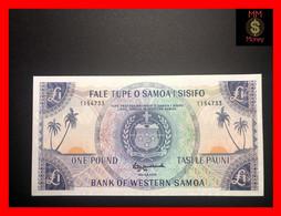 SAMOA - WESTERN SAMOA  1 £  1963 Official Bank Reprint 2020   P. 14  UNC - Samoa