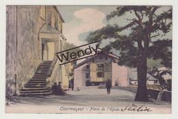 Courmayeur (Place De L'Eglise - Color - 1906) - Otras Ciudades