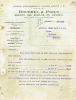 ROUBAIX 1921 - BOURRES & POILS SOCIETE DES ENGRAIS DE ROUBAIX - Déchets De Laine, Flocons, Bourres & Poils - Zonder Classificatie