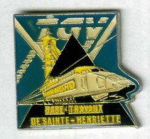Pin's Train TGV SNCF Charbon Mine Mineur Terril Sainte-Henriette Hénin-Beaumont - TGV
