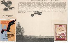 Pilote Mme La Baronne De La Roche - ....-1914: Precursores