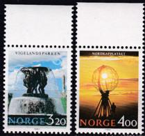 Norwegen, 1991, 1068/69,  MNH **,  NORDEN: Tourismus - Nuevos