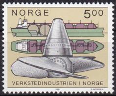 Norwegen, 1991, 1061,  MNH **,  Norwegische Maschinenindustrie. - Nuevos