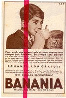 Orig. Knipsel Coupure Tijdschrift Magazine - Pub Reclame - Banania - 1939 - Publicidad